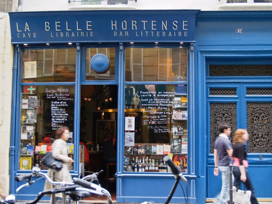 Librairie café bistrot