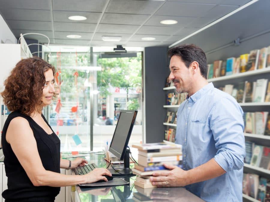 client et libraire