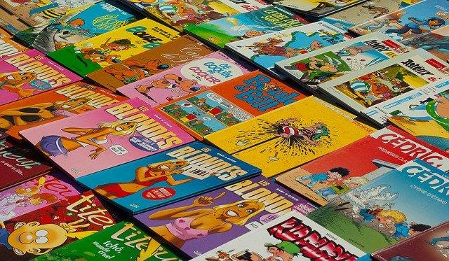 vente bande dessinée
