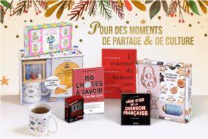coffrets mug Noël, beaux livres, jeux